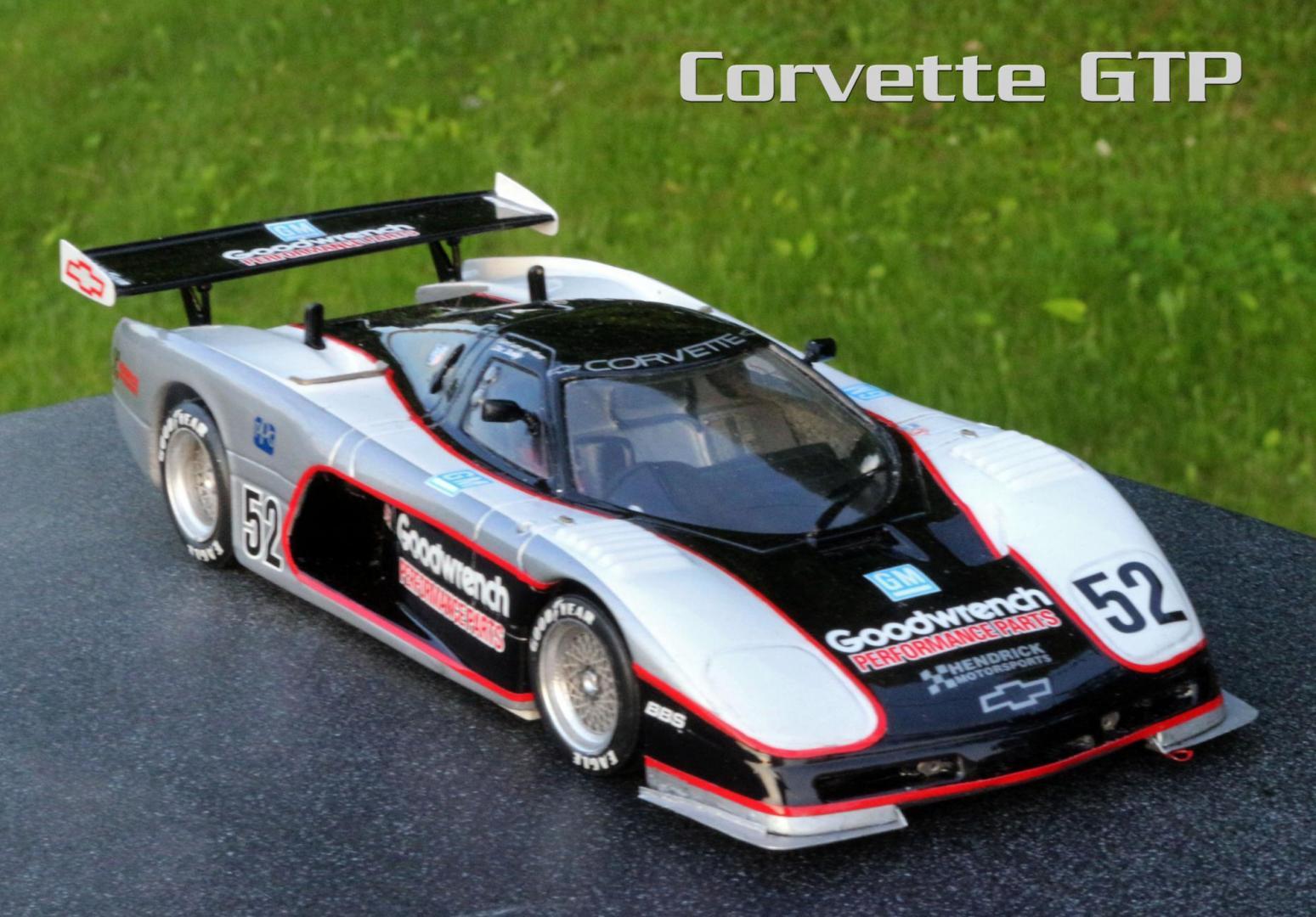 corvette gtp - car aftermarket    resin
