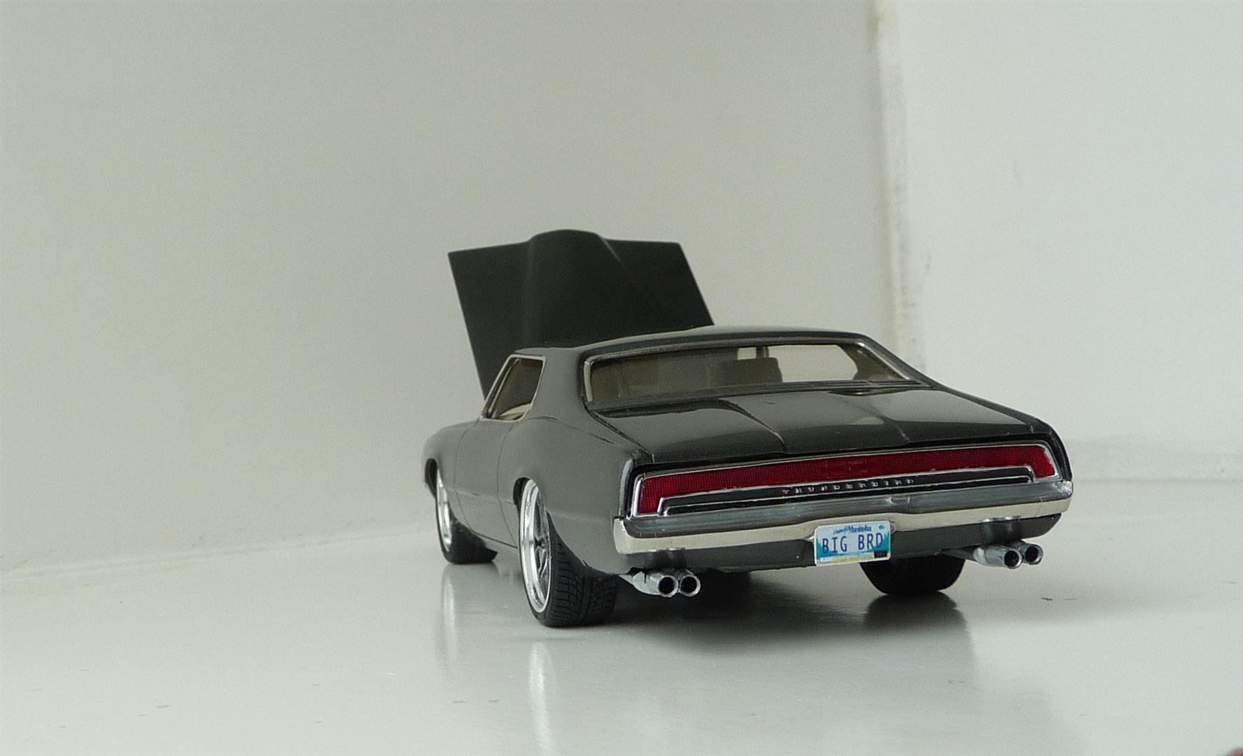 Model King 1971 Thunderbird Car Kit News Reviews Model Cars