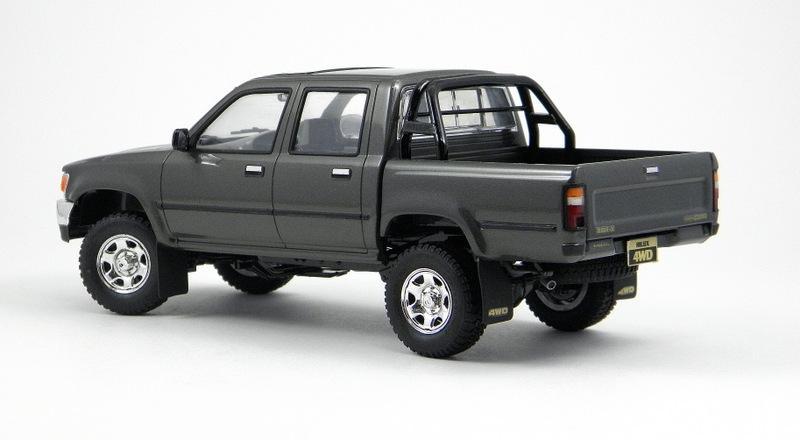 Hilux Vs Utility 92 Toyota 4x4s Under Glass Pickups