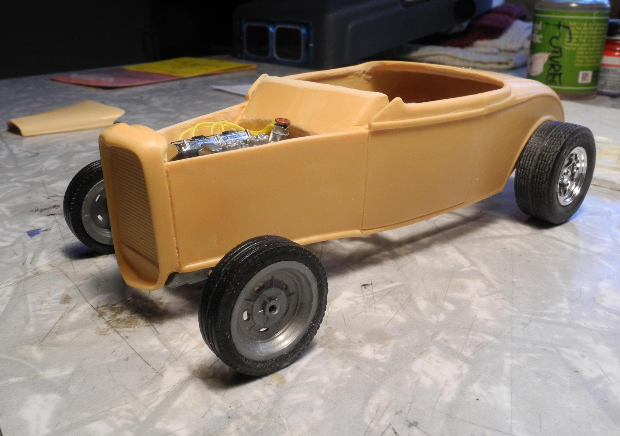 32 Zipper Roadster, updated photos 8/26 - On The Workbench - Model ...