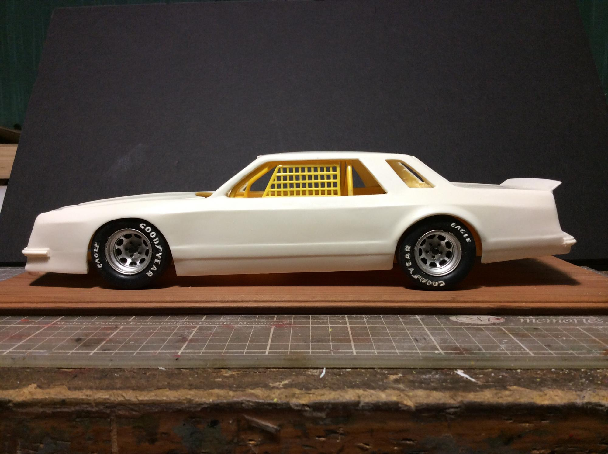 Dodge Mirada and 1981 Imperial race cars - NASCAR - Model ...