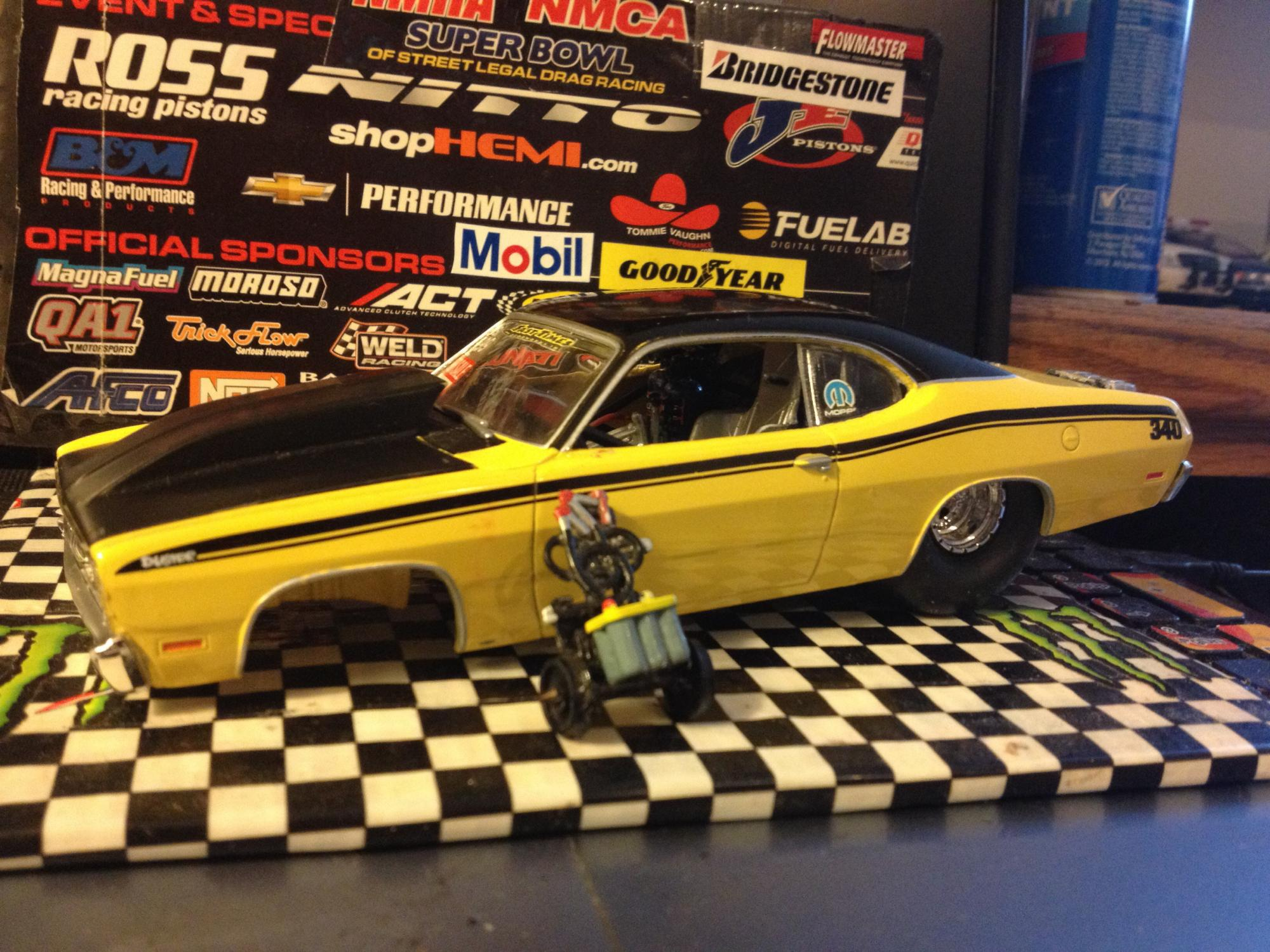 71 duster pro street  outlaw car