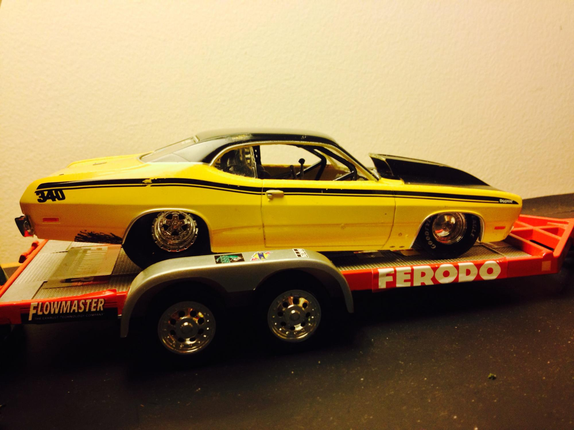 71 Duster Pro Street/Outlaw Car