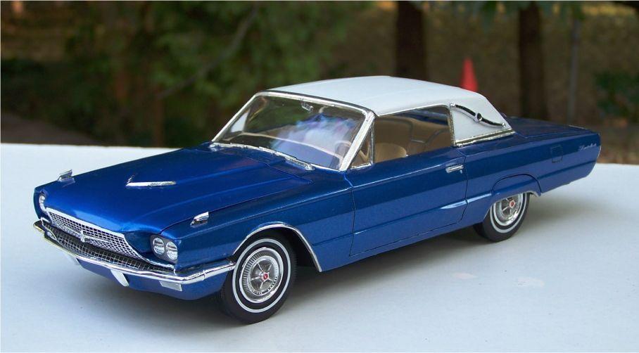 Cheap Car Tires >> 1966 Ford Thunderbird Town Landau - Under Glass - Model Cars Magazine Forum