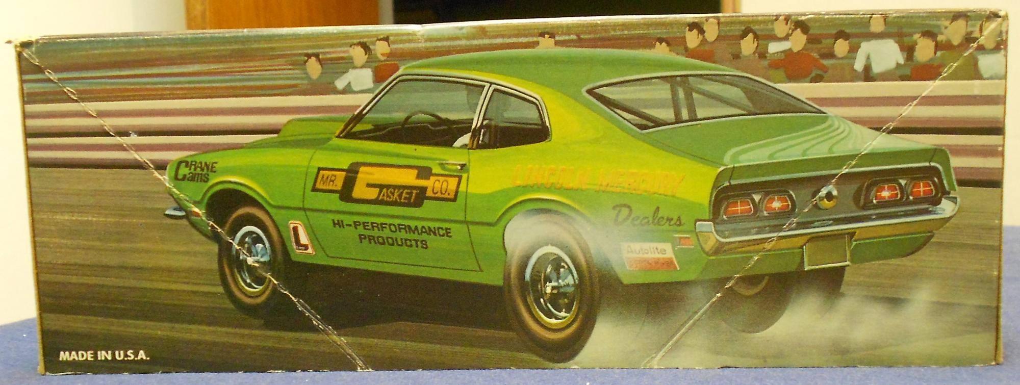 Jo Han Maverick Kits Car Kit News Reviews Model Cars Magazine 1972 Ford Wiring Harness And I Think It Has Some Of The Best Box Art This Issue Unlike Could Be Built Stock Or Pro Comet Had A Separate For Drag