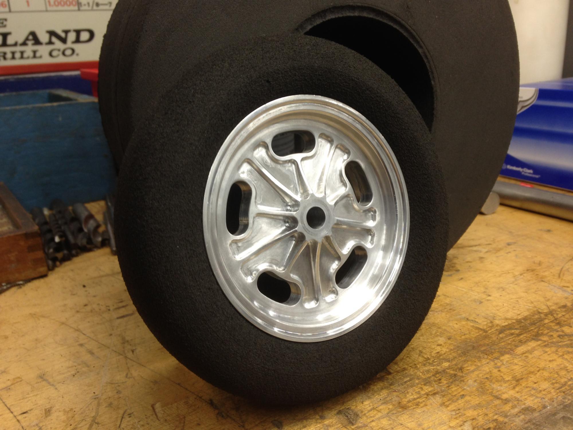 1\\4 scale RC Wheels - Big Boyz - Model Cars Magazine Forum