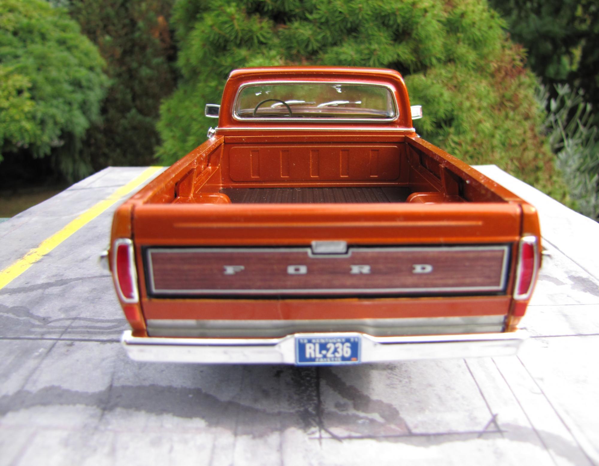 1971 Ford Ranger Xlt Moebius Under Glass Pickups