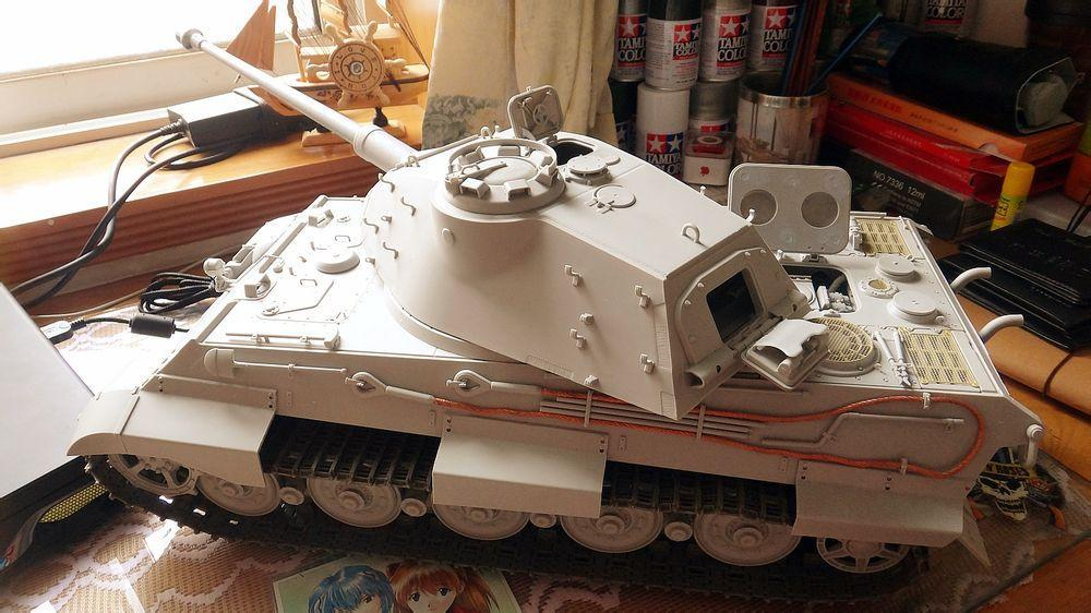 Trumpeter 1 16 King Tiger All The Rest Model Cars