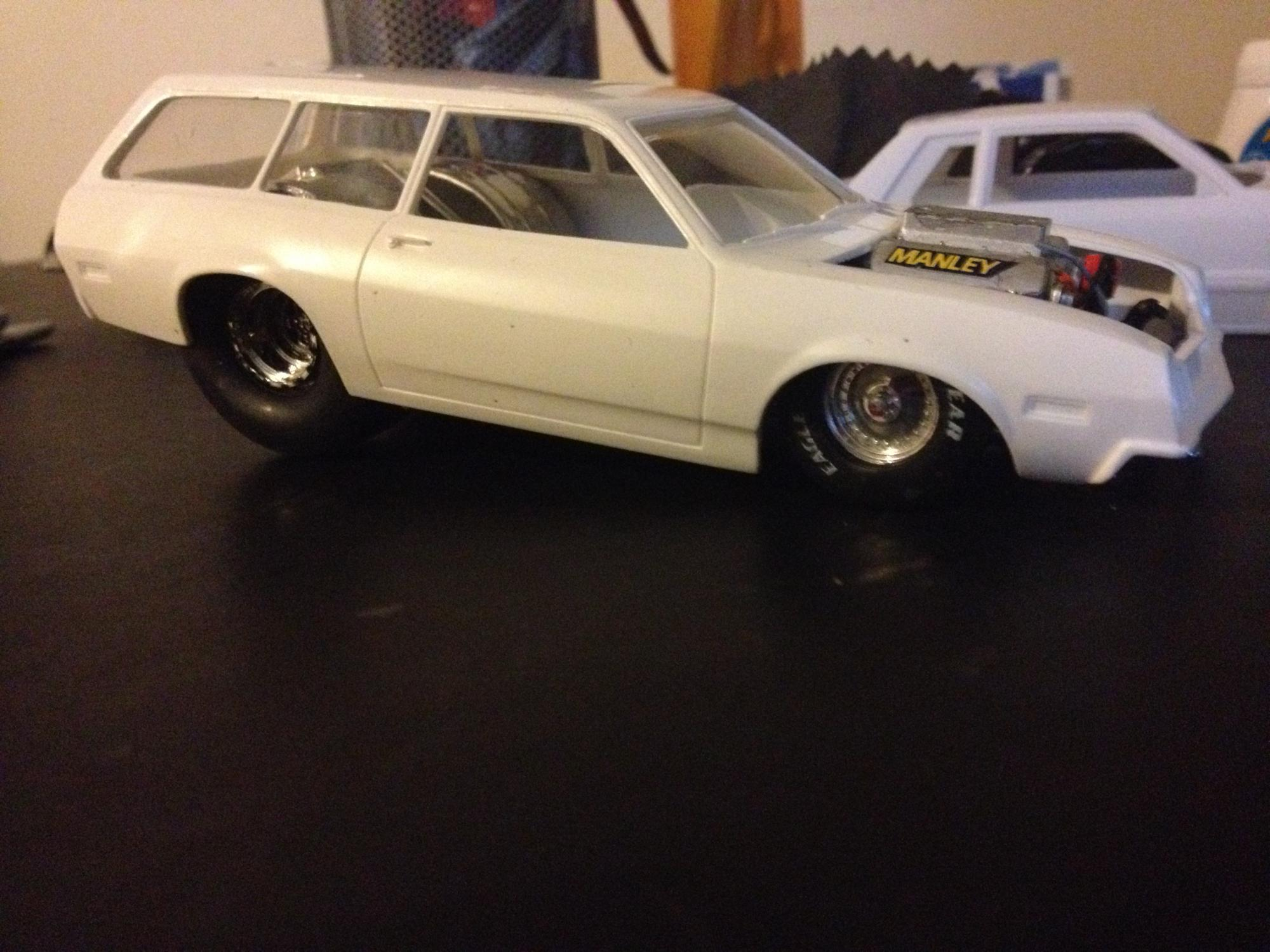 Attempting to build a Pinto Wagon,drag car - On The Workbench ...