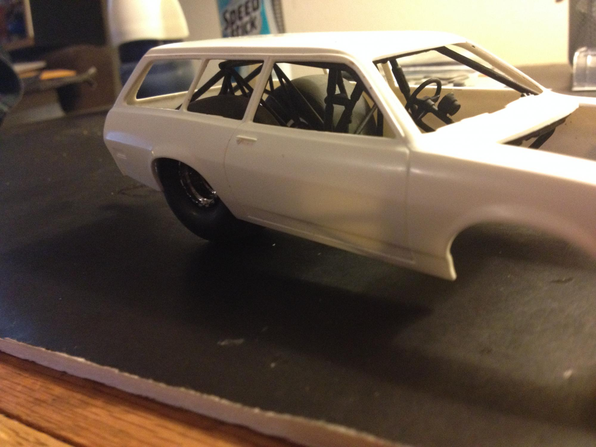 Heres An Updated Pic Of My Attempts To Build A Pinto Wagon Drag Car
