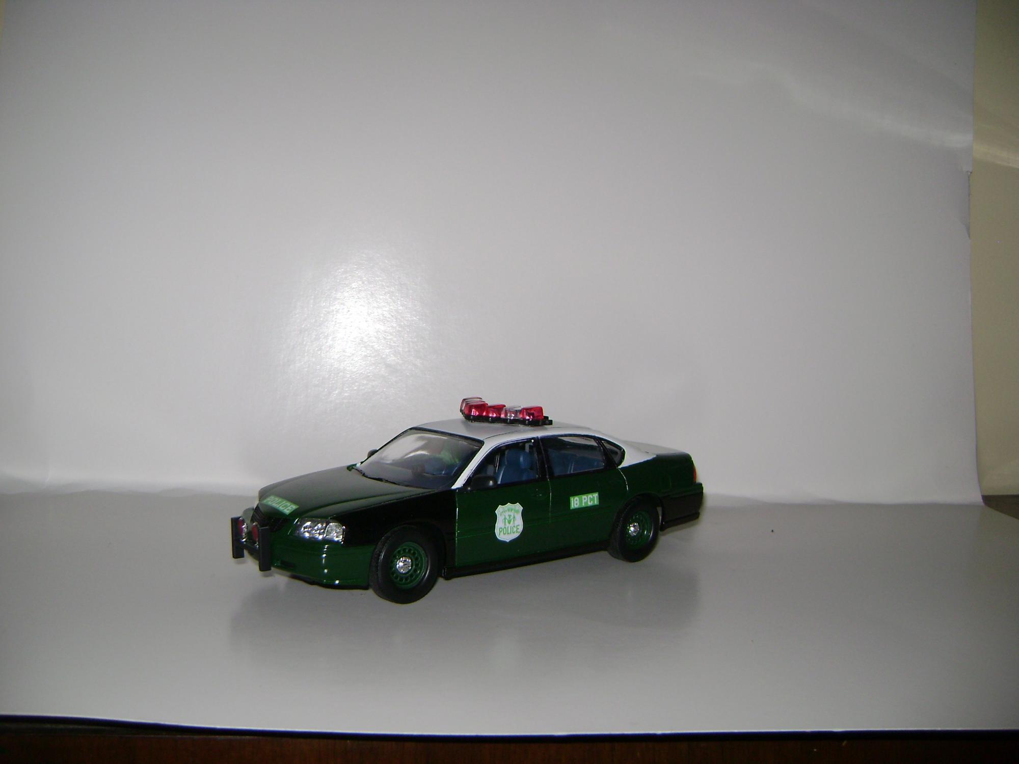 nypd new car old look under glass model cars magazine forum. Black Bedroom Furniture Sets. Home Design Ideas