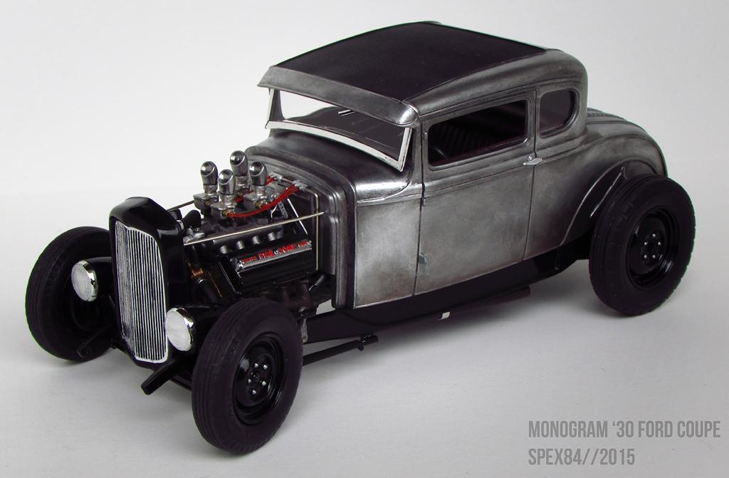 Monogram 30 Ford Hemi Coupe Under Glass Model Cars