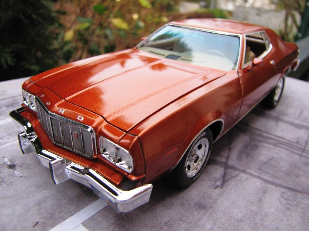1975 ford gran torino under glass model cars magazine forum. Black Bedroom Furniture Sets. Home Design Ideas