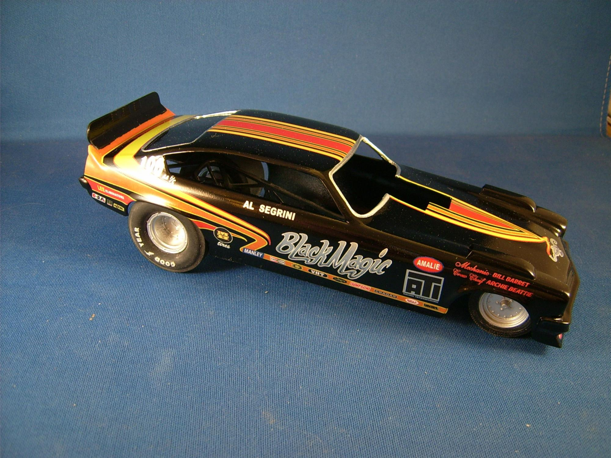 MPC funny cars almost done now chassis - WIP: Drag Racing
