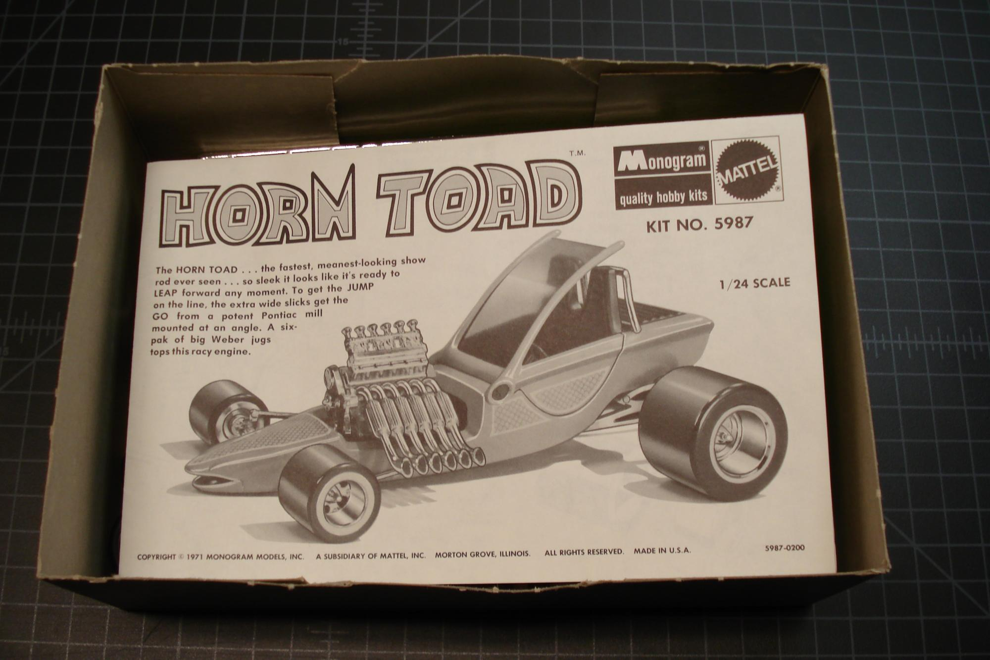 monogram tom daniel horn toad  1971  - car kit news  u0026 reviews