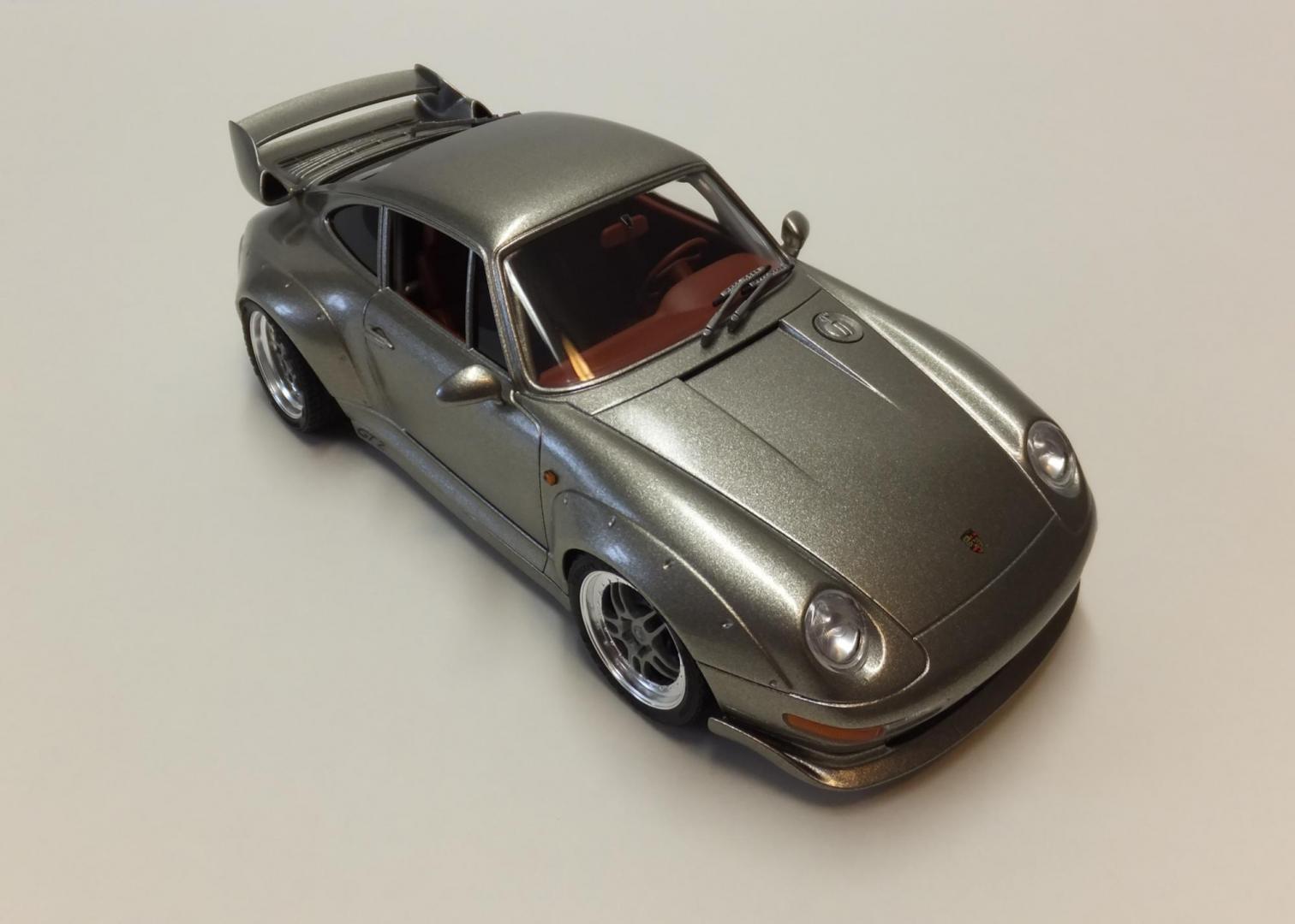 tamiya porsche 911 gt2 street vers under glass model. Black Bedroom Furniture Sets. Home Design Ideas