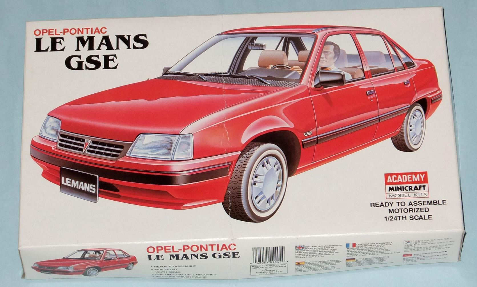 When Badges go bad: Daewoo LeMans out of box - Car Kit News ...