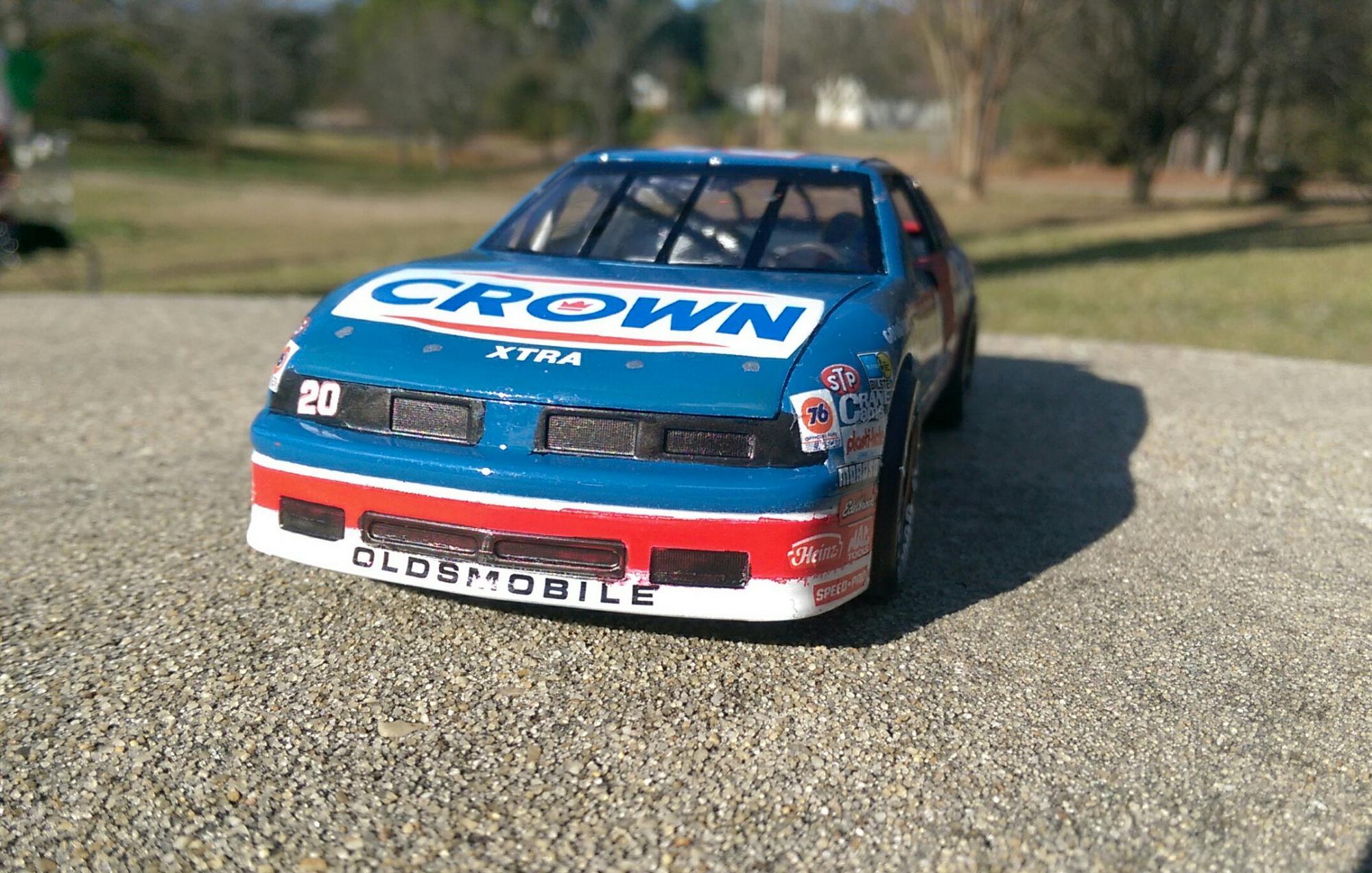 20 crown oldsmobile - nascar