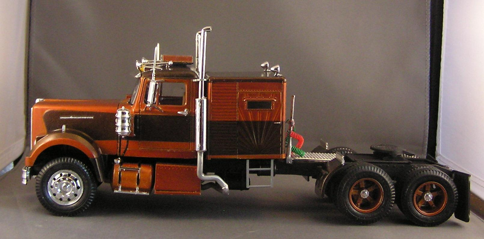 Build A Car From Scratch >> White Western Star - Under Glass: Big Rigs - Model Cars ...