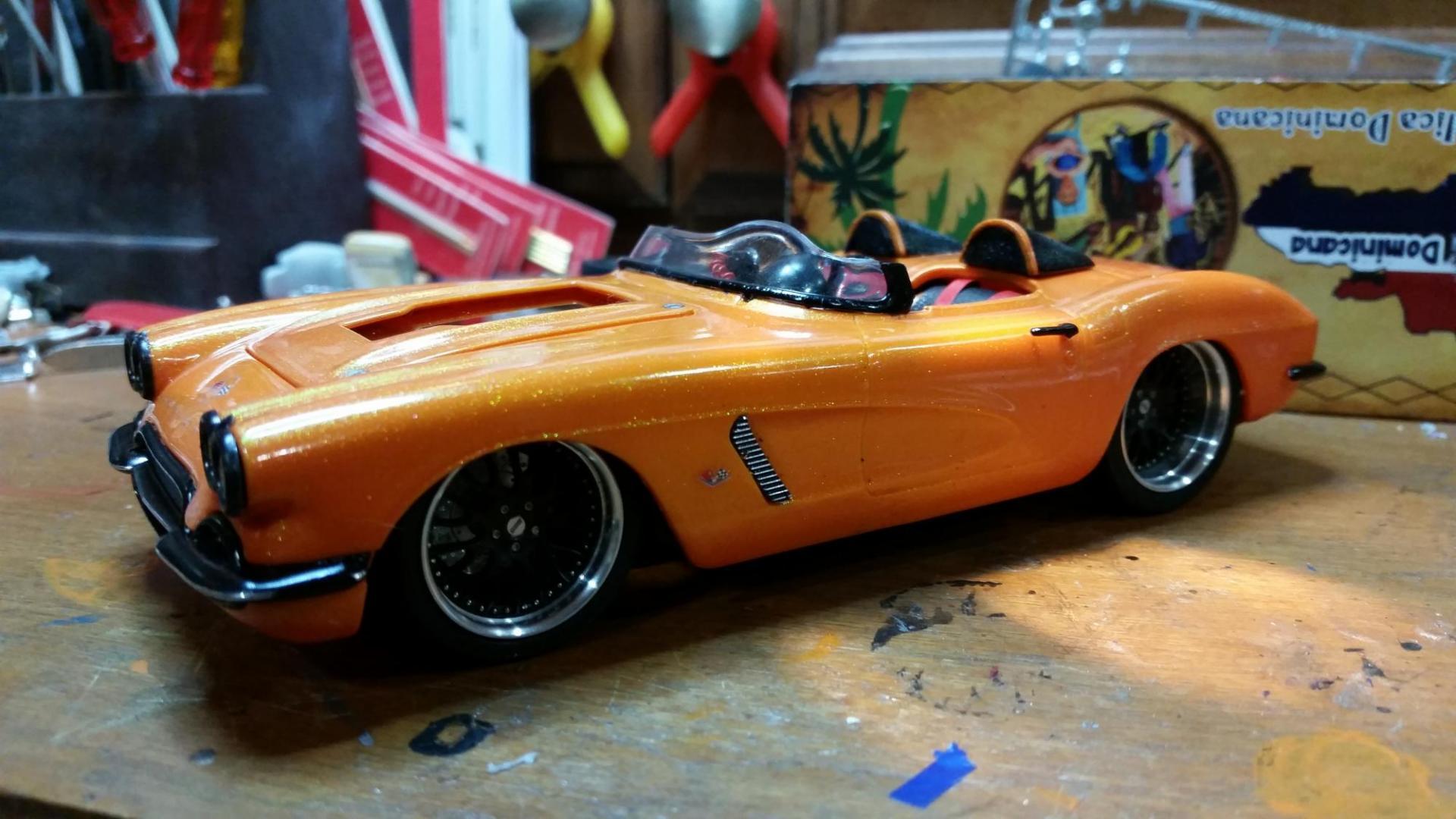 1962 1/24 Scale Corvette