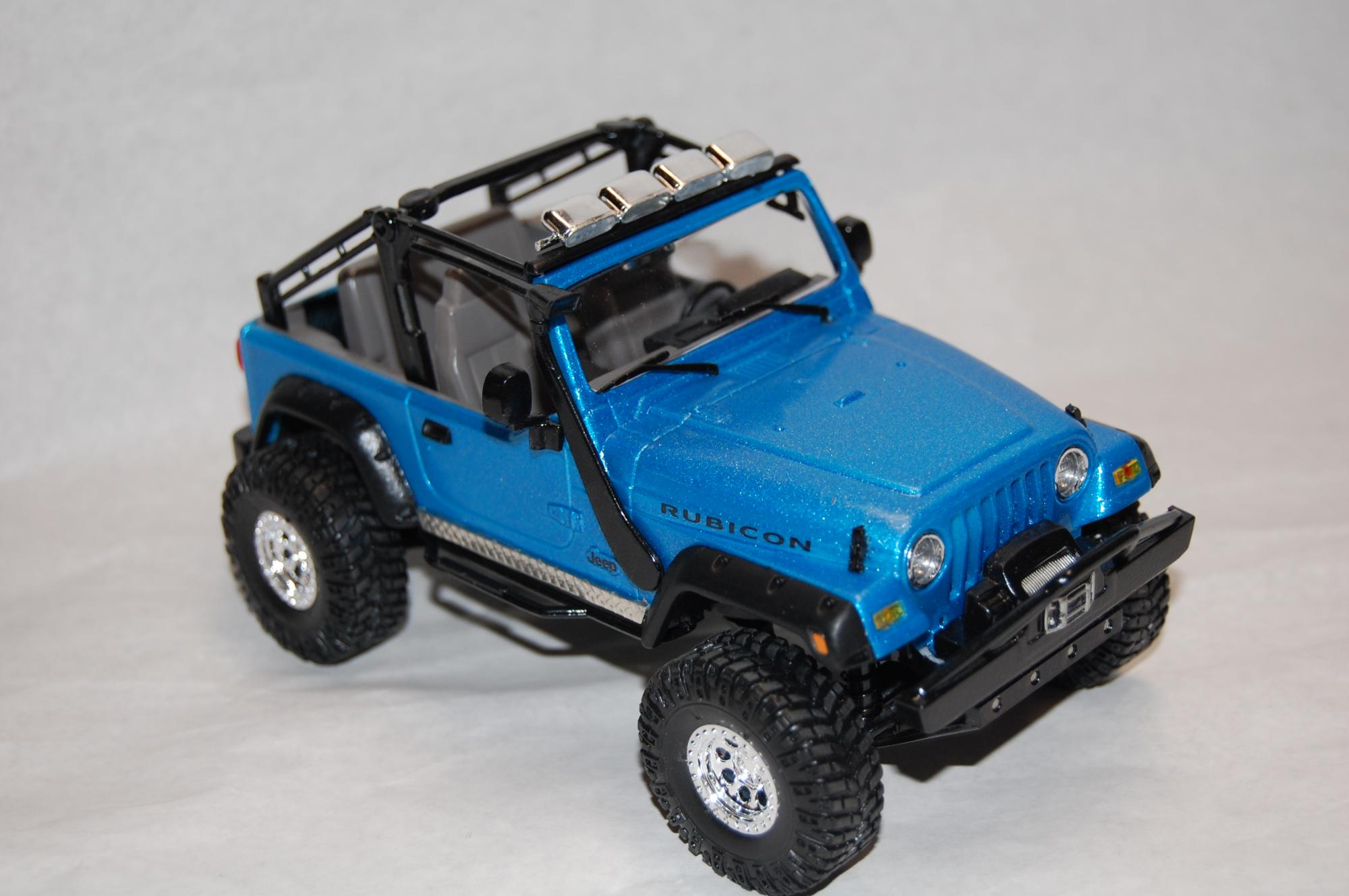 Revell Jeep Rubicon Pics Under Glass Pickups Vans