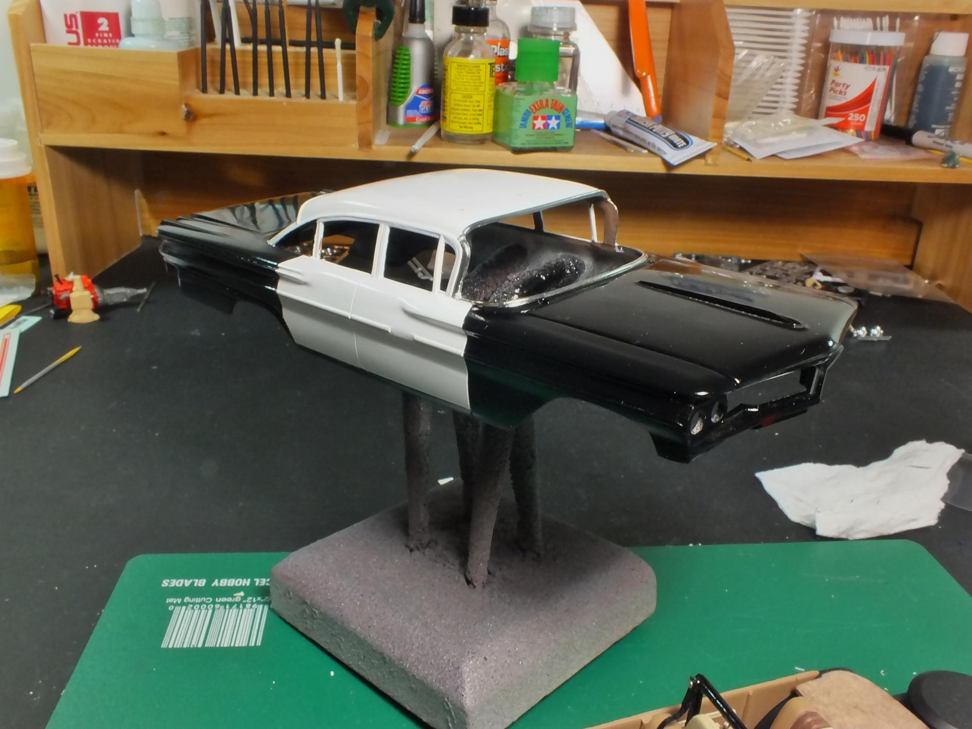 60 Pontiac Catalina On The Workbench Model Cars Magazine Forum 1960 2 Door Dscf1461