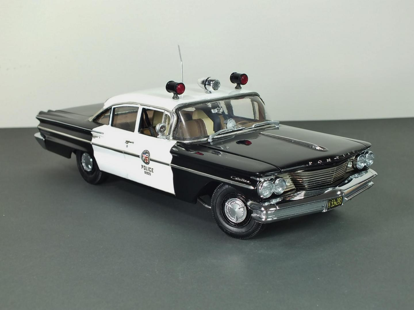 1960 Pontiac Catalina Lapd Freeway Interceptor Under