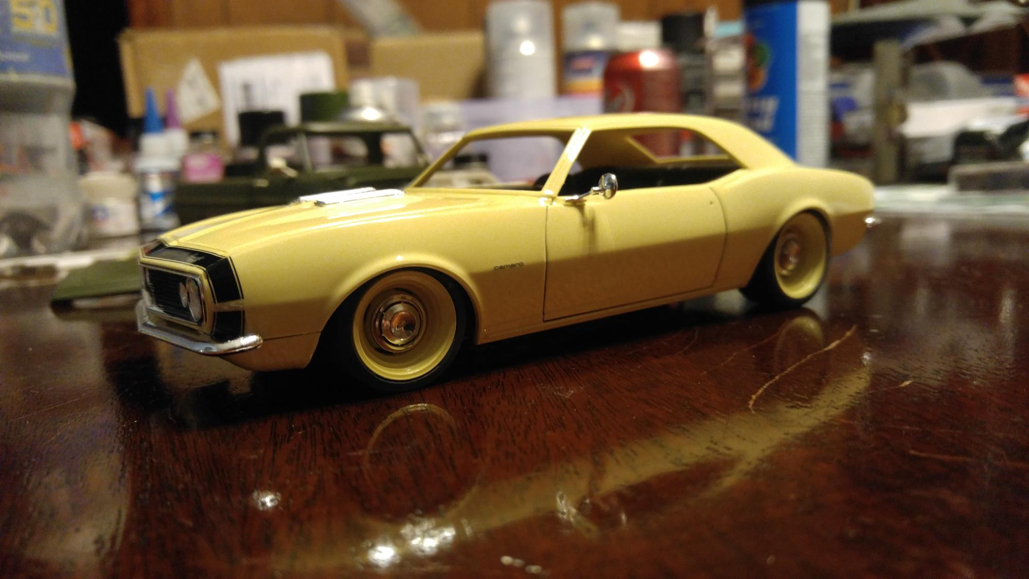 Revell 67 Camaro Updated 3 30 16 On The Workbench