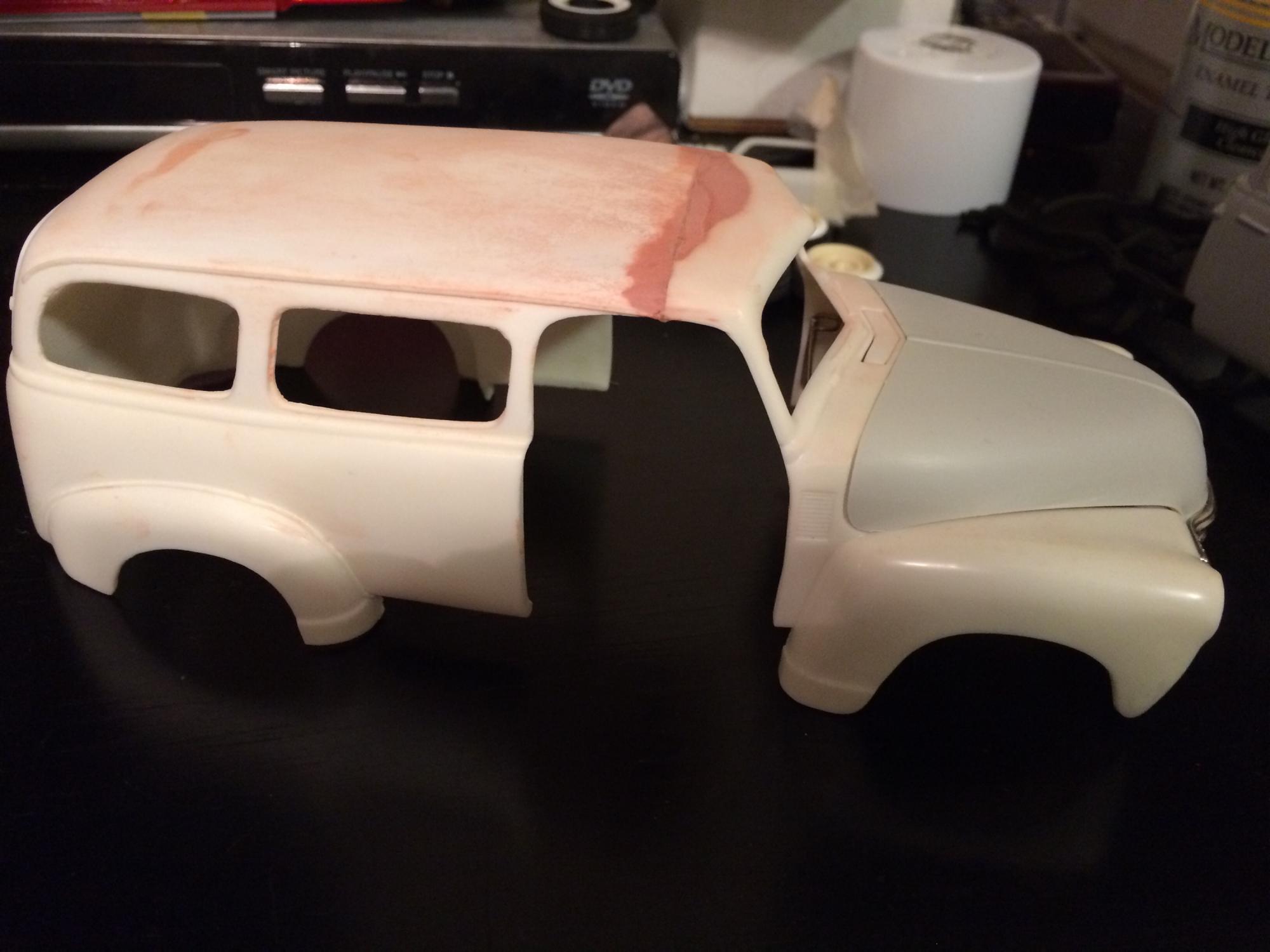 1950 Chevy Suburban - Under Glass: Pickups, Vans, SUVs