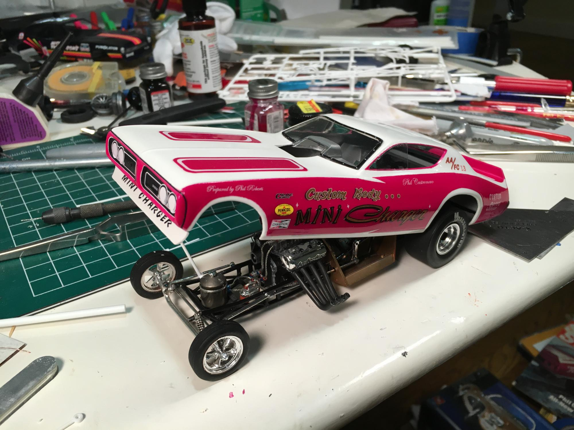 Phil Castronovo\'s Custom Body Mini Charger - complete! - Drag ...
