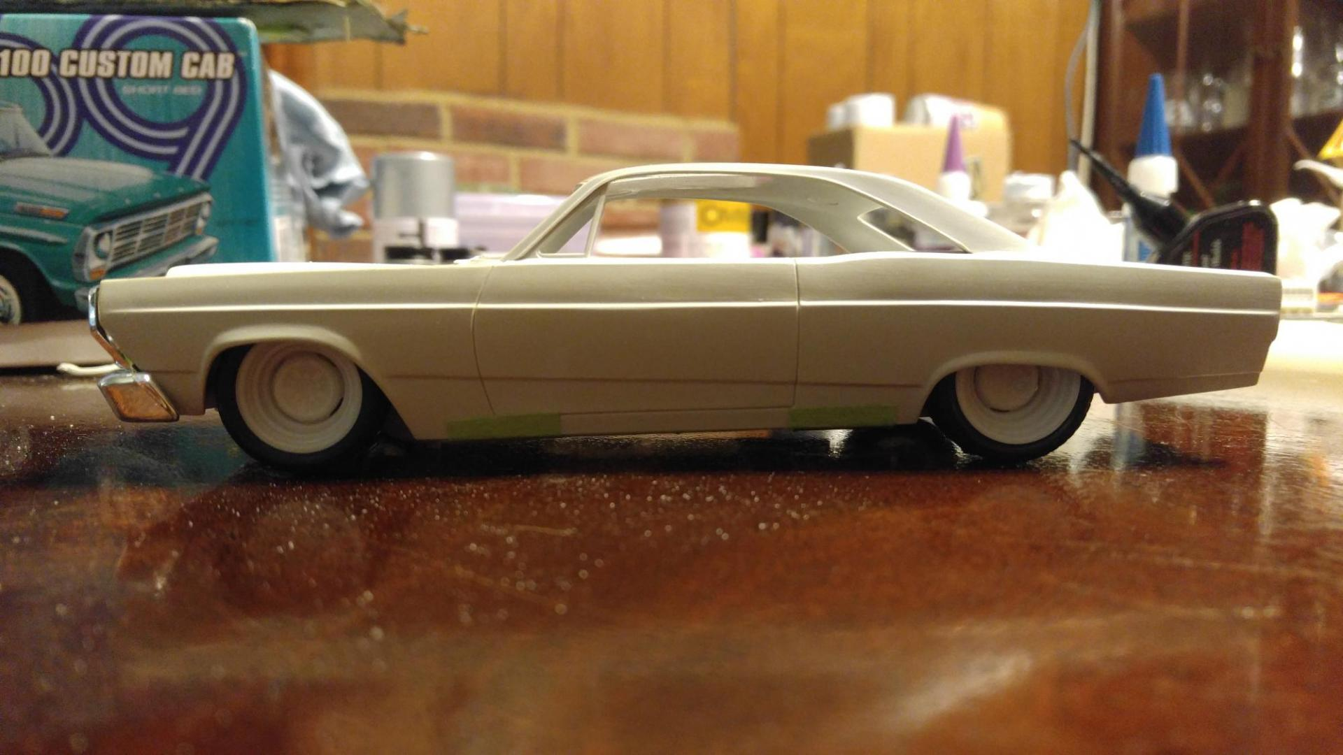 Amt 1966 Ford Fairlane Update 7 17 16 On The Workbench Model Cars Magazine Forum
