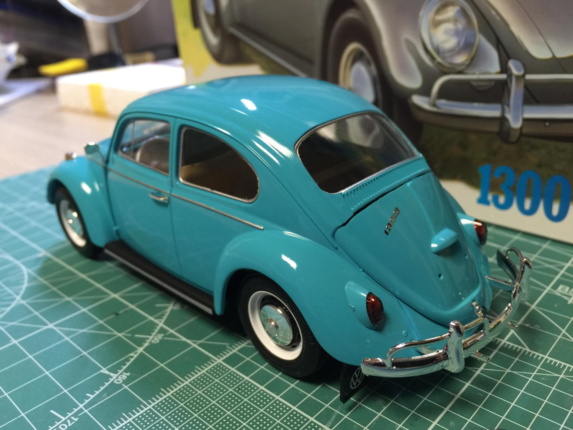 Tamiya 1966 VW 1300 Beetle - Under Glass - Model Cars Magazine Forum