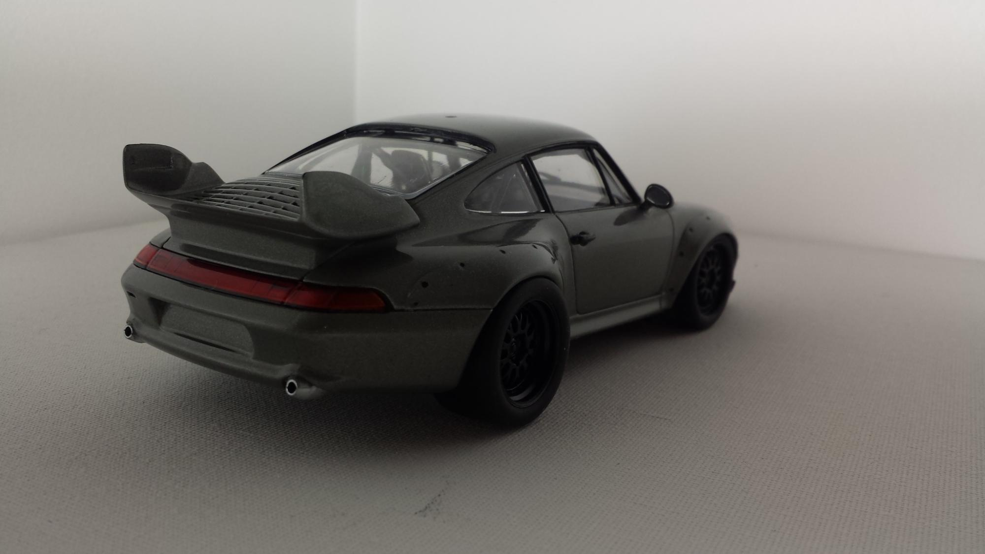 tamiya porsche 911 gt2 under glass model cars magazine forum. Black Bedroom Furniture Sets. Home Design Ideas