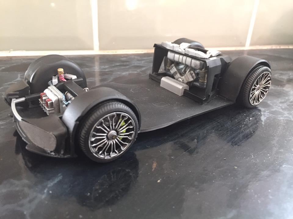Porsche 918 Spyder Revell Under Glass Model Cars