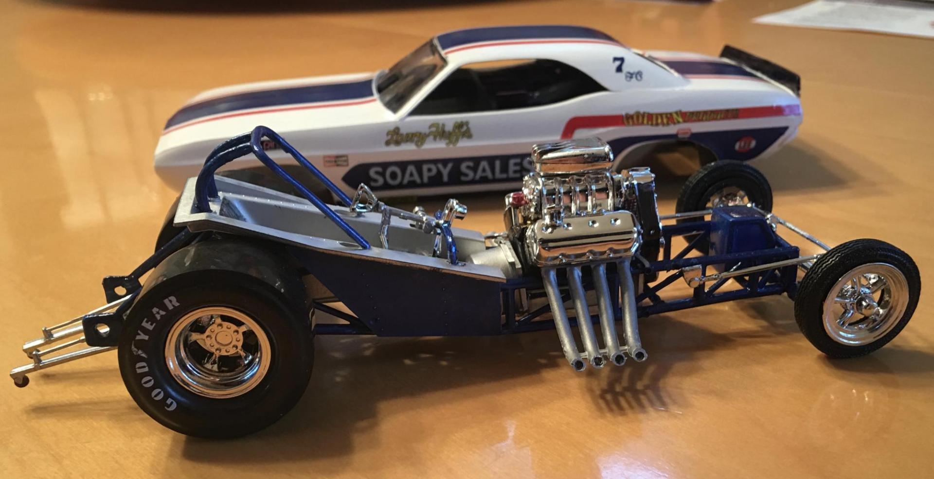 Soupy Sales MPC Challenger re-release - WIP: Drag Racing