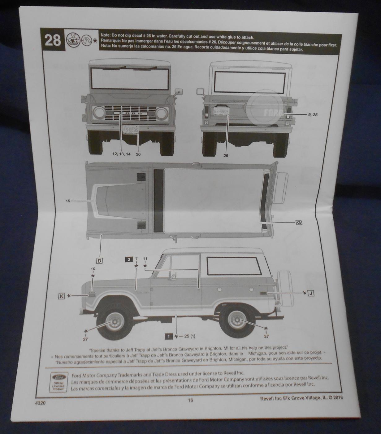 Revell 1971 73 Ford Bronco Truck Kit News Reviews Model Cars Pole Barn Build Page 7 Forum Dscn9415