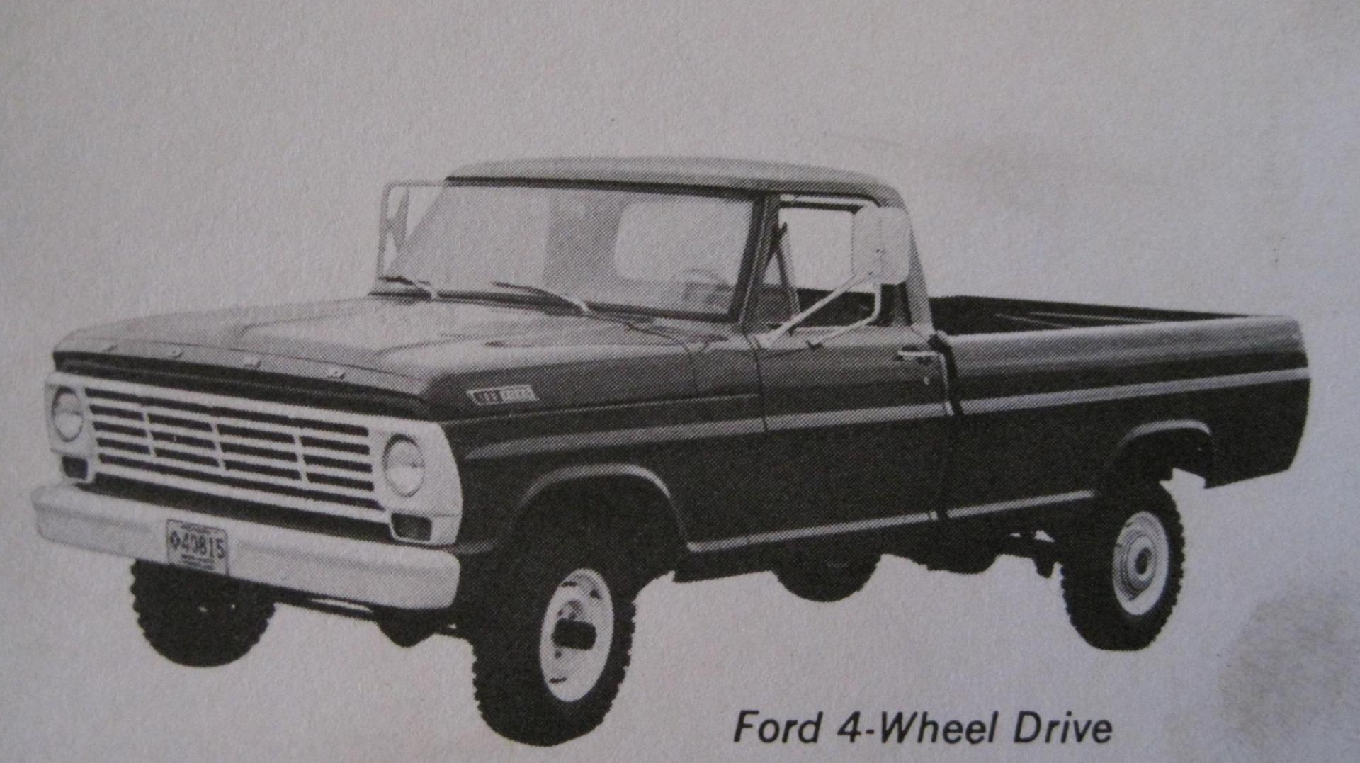 1967 Ford Truck 4x4