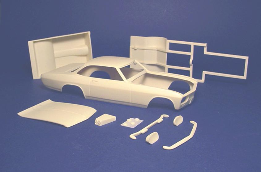Shout Out For Speed City Resin Car Aftermarket Resin Model