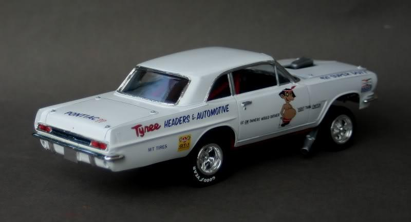 Jess Tyree's '63 Pontiac Tempest - Drag Racing Models