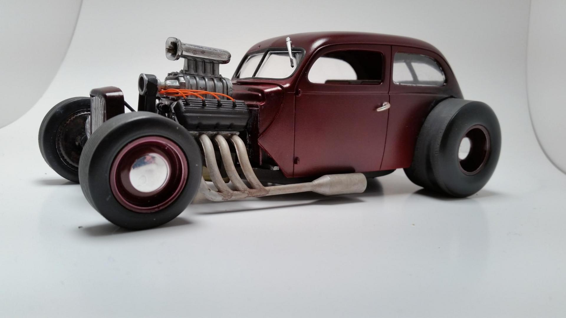 37 Ford Rat Rod Under Glass Model Cars Magazine Forum