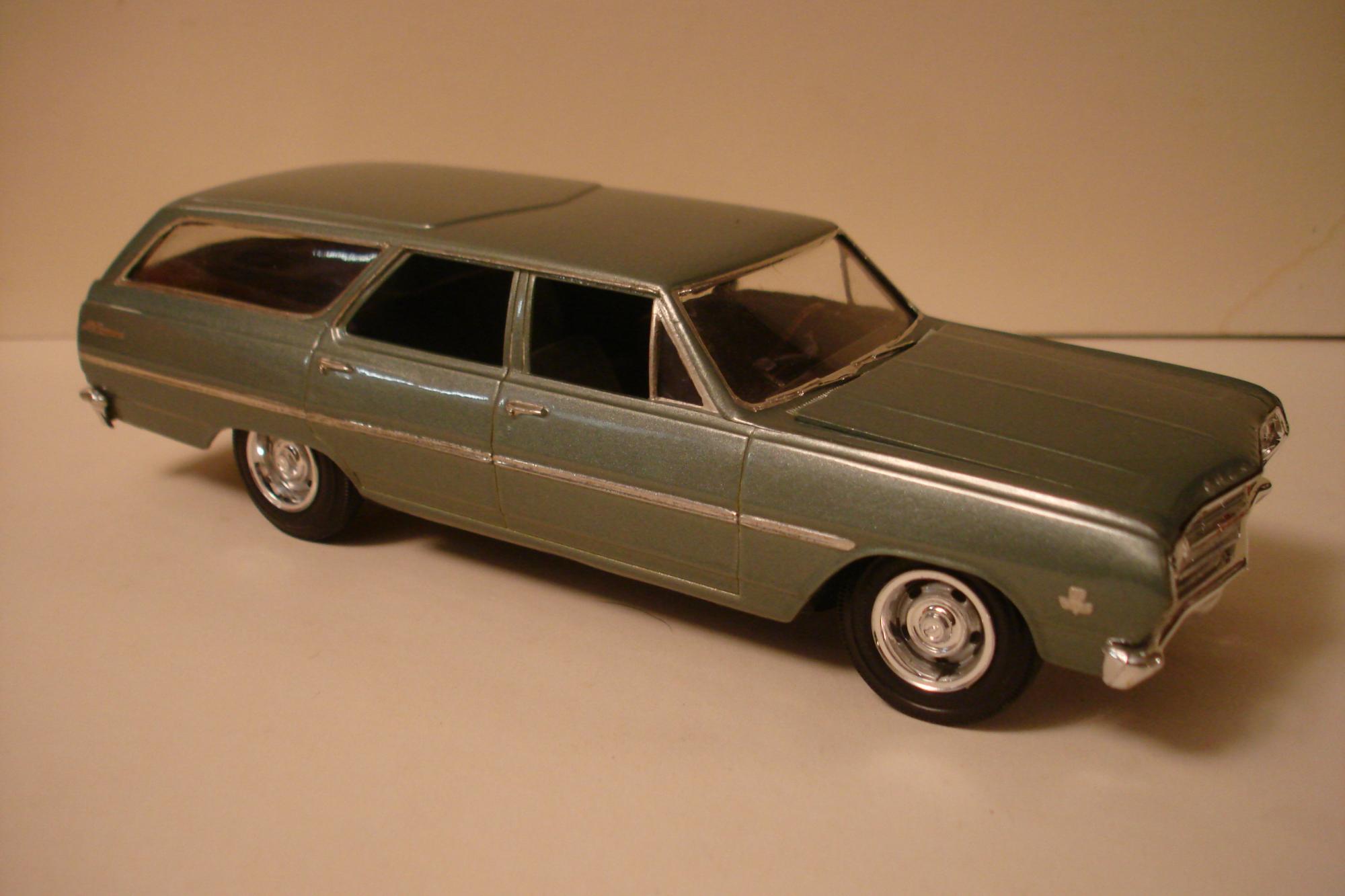 AMT 1965 Malibu wagon - Under Glass - Model Cars Magazine Forum