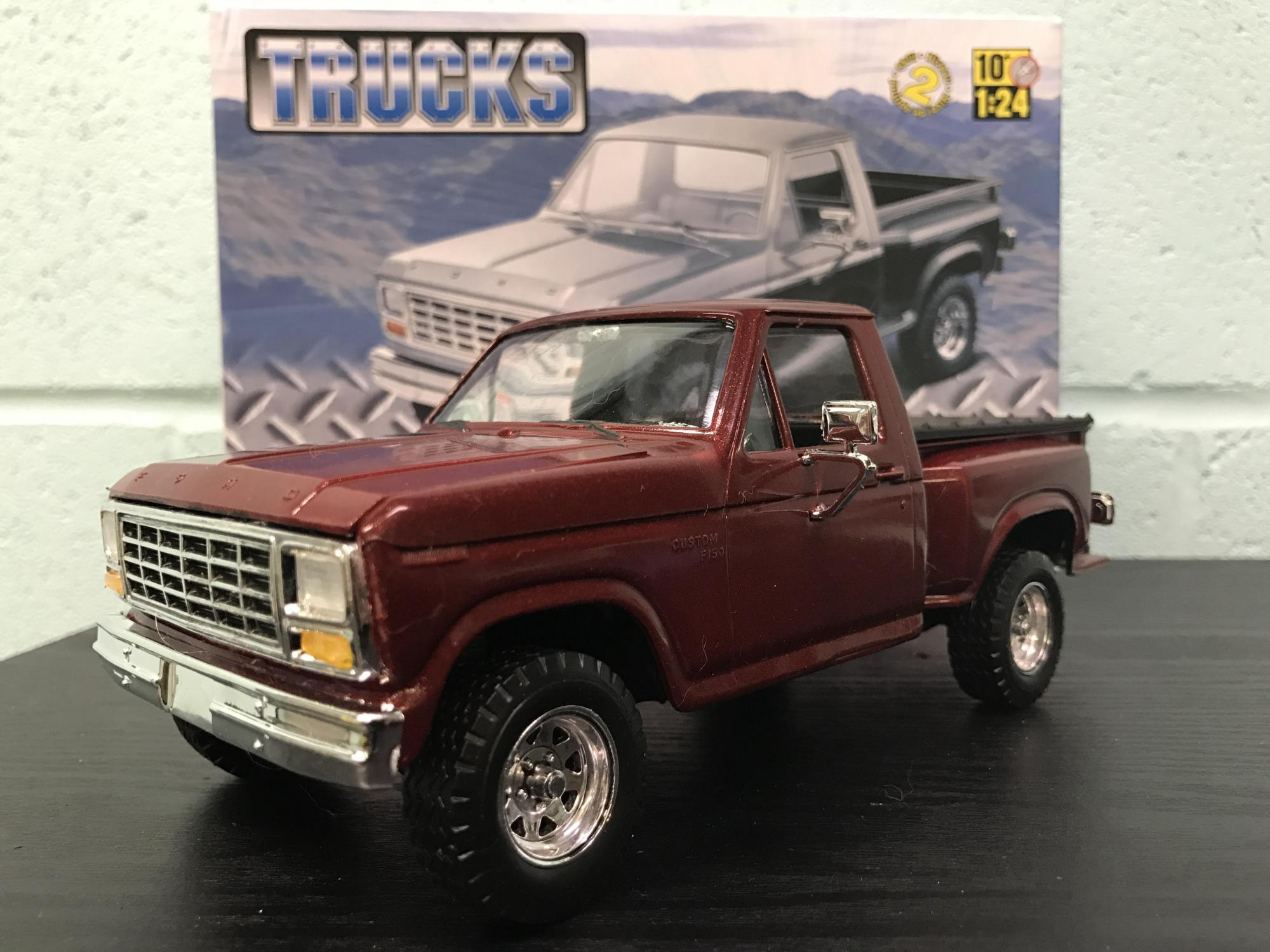 revell 1980 ford ranger pickup under glass model cars. Black Bedroom Furniture Sets. Home Design Ideas