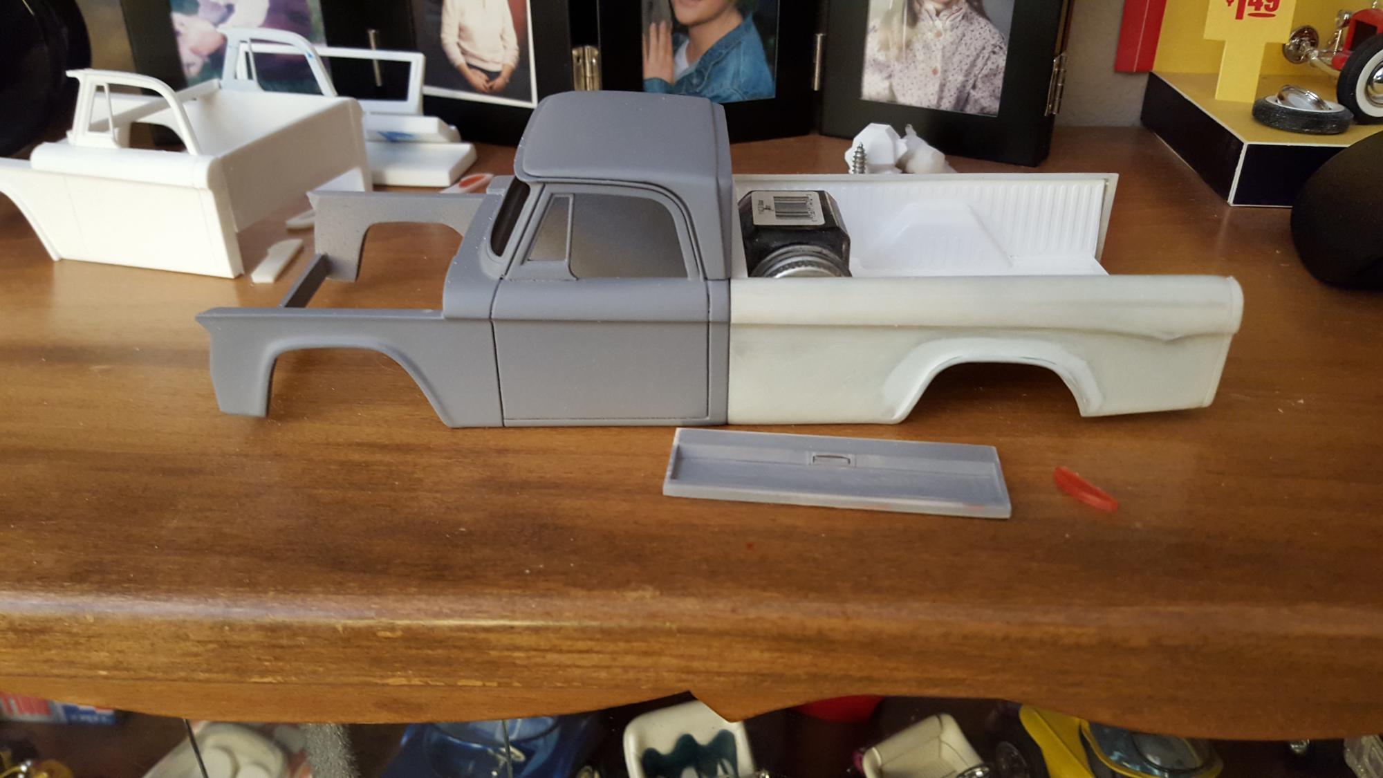 1970 dodge truck 3d print - On the Workbench: Pickups, Vans, SUVs