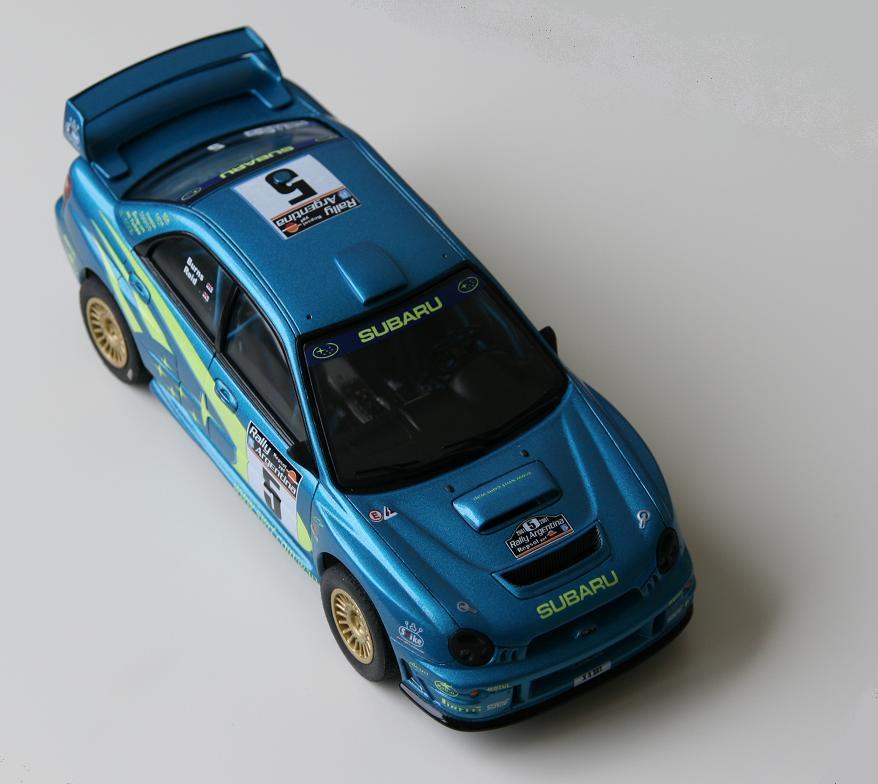 Airfix Subaru Imprexa Wrx Wrc 1 24 Under Glass Model