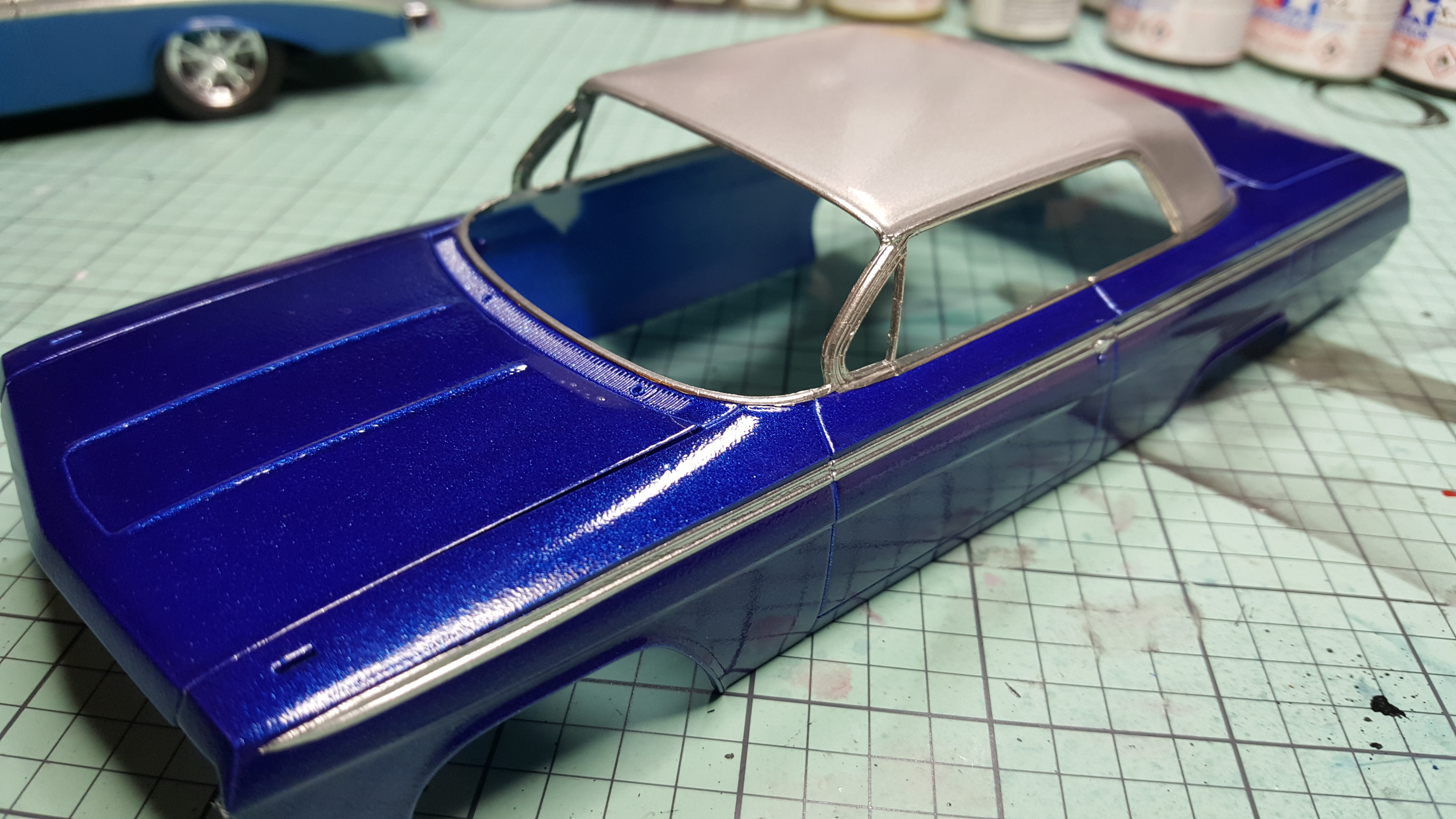 How to spray clear coat without orange peel - 20170228_061646 Jpg
