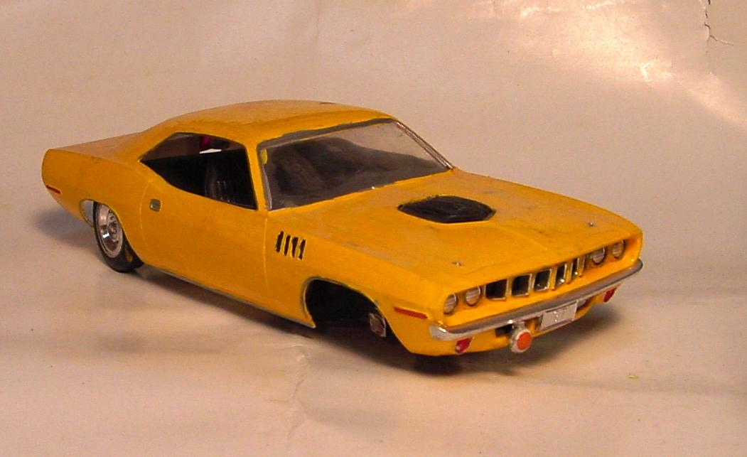 71 Barracuda - On The Workbench - Model Cars Magazine Forum