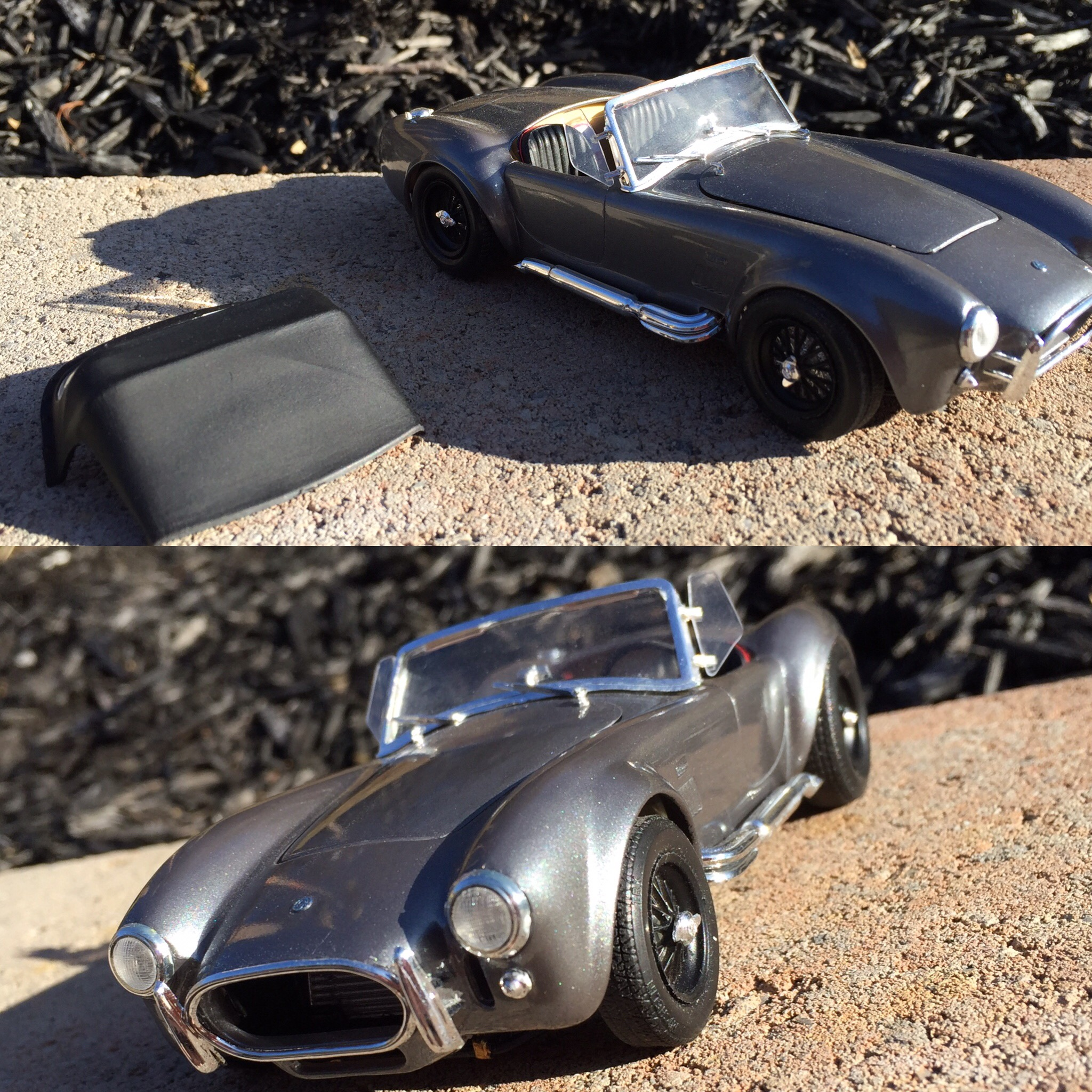 Revell/ Monogram Shelby Cobra S/C - Under Glass - Model Cars
