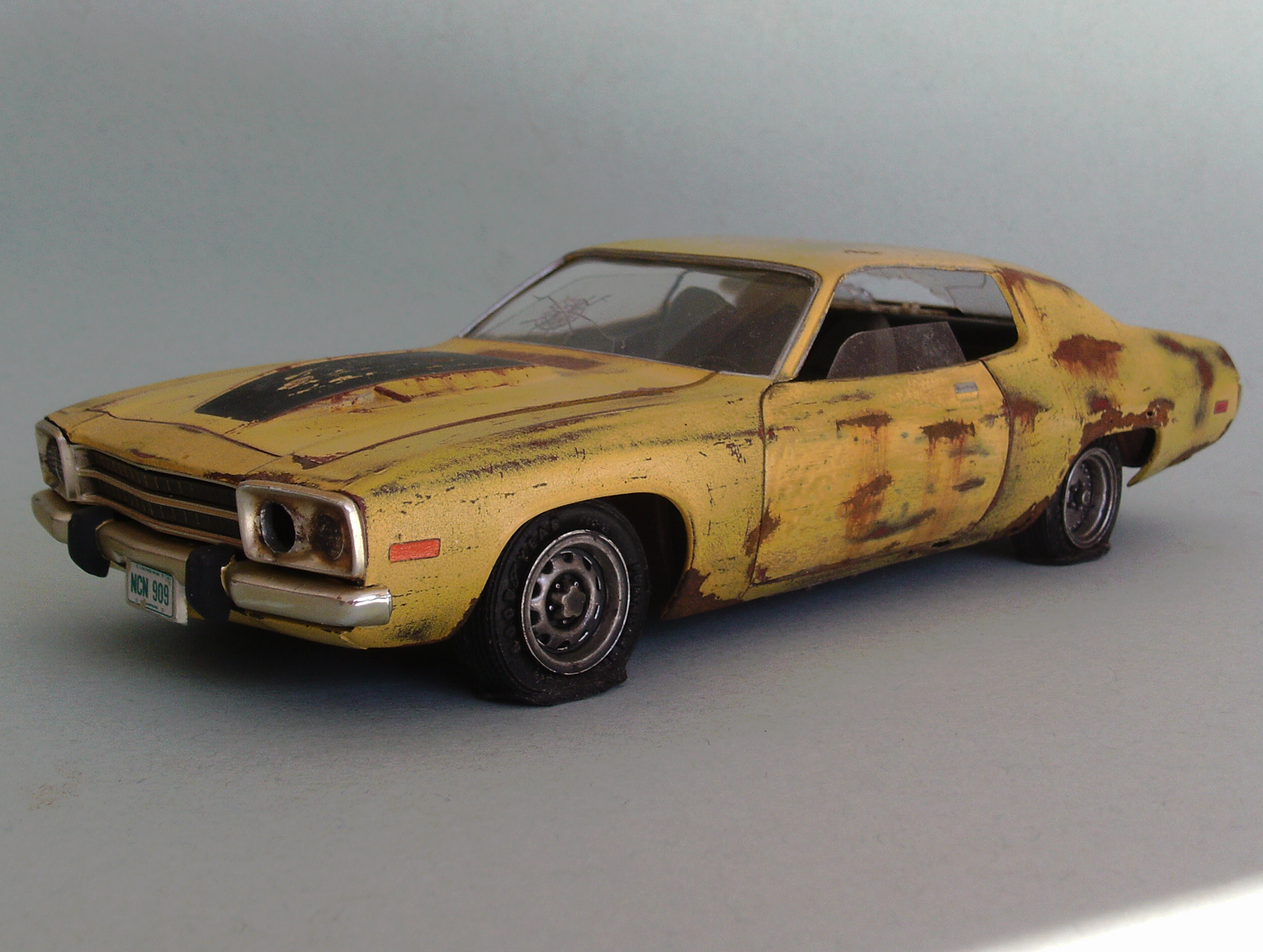1974 Plymouth junker - Under Glass - Model Cars Magazine Forum