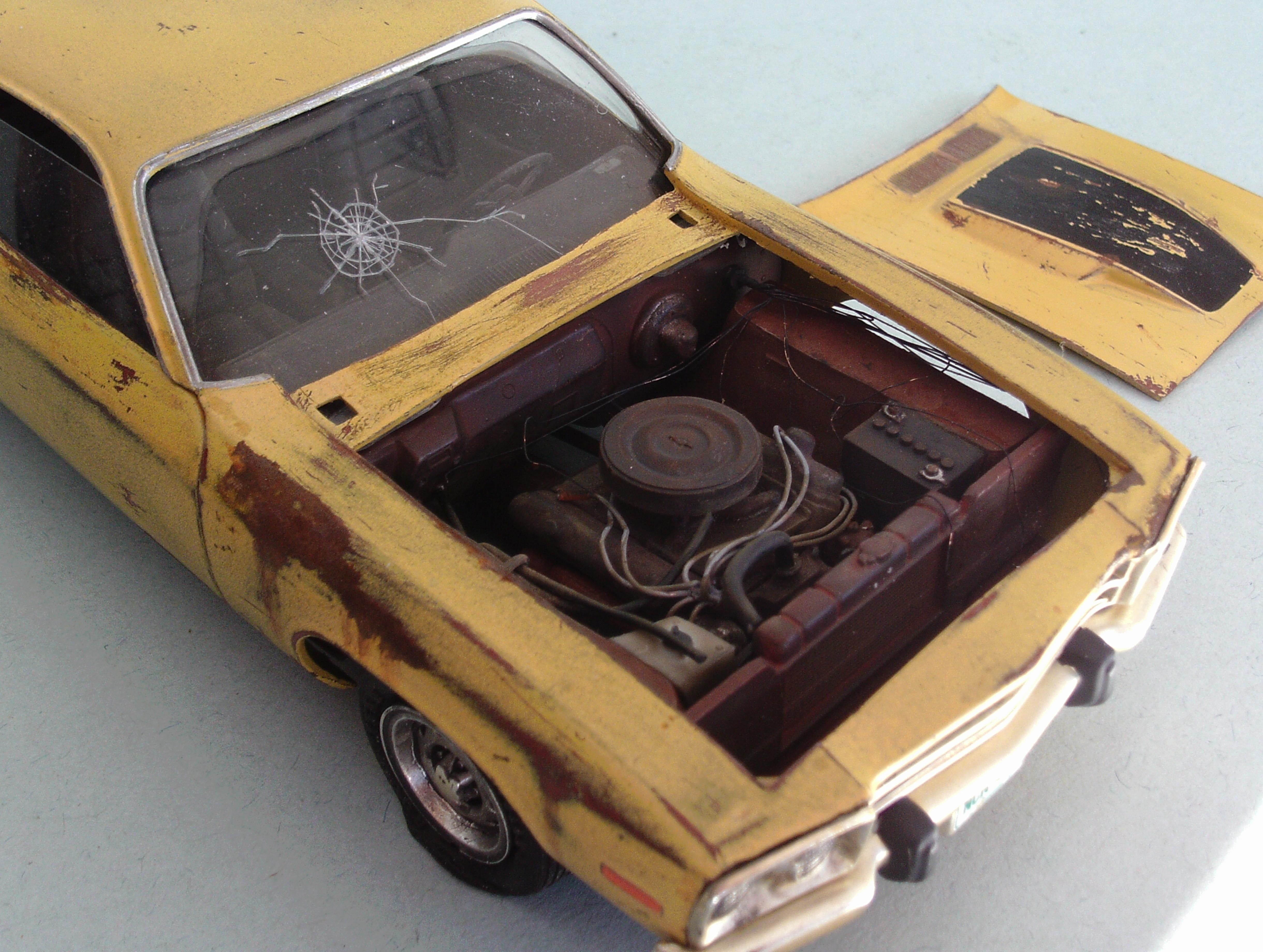 1974 Plymouth junker - Under Glass - Model Cars Magazine Forum