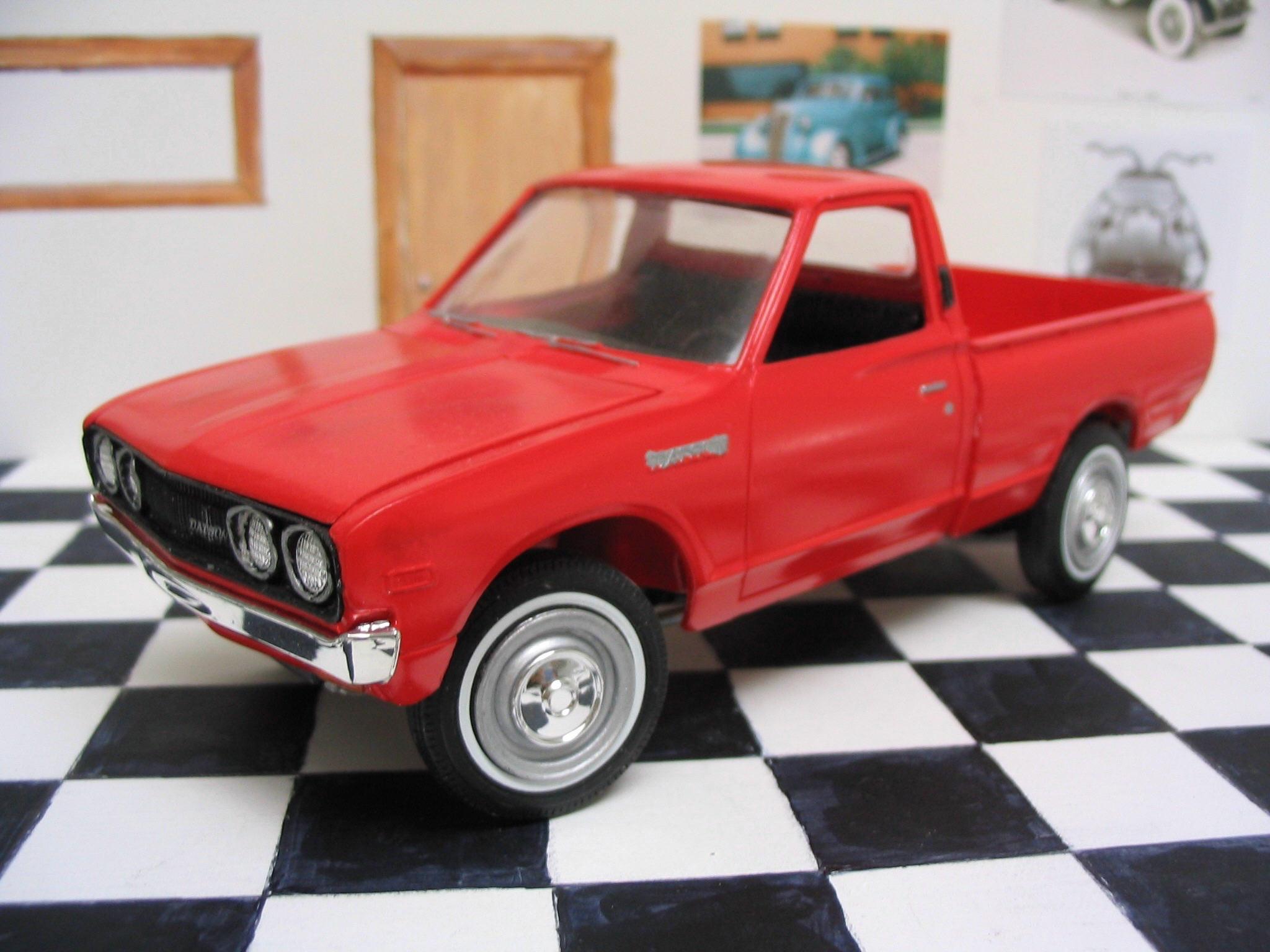 Mpc 1975 Datsun Pickup Page 2 Truck Kit News Amp Reviews